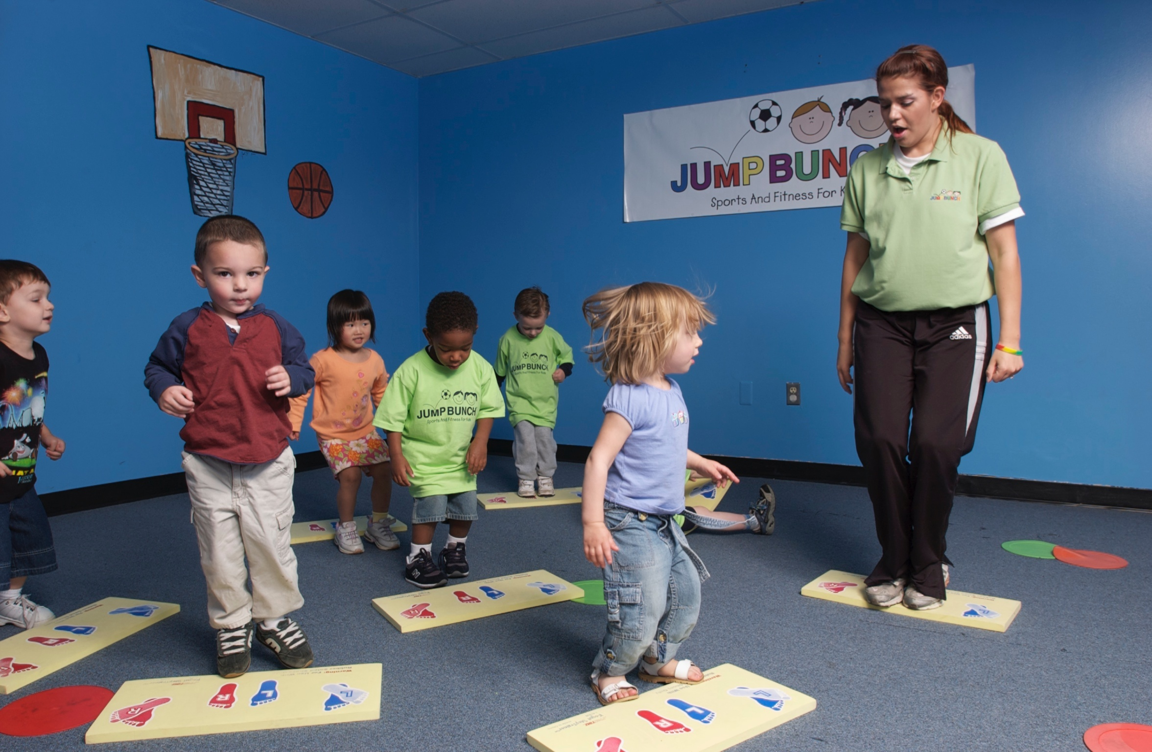 JumpBunch Central Houston | A Friendly Introduction to Sports and Fitness!